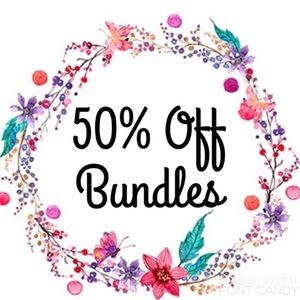 🌸50% off bundles of 2 or more🌸